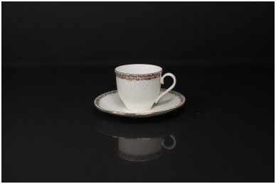 """Komplektas espresso kavai """"Magnolija"""""""